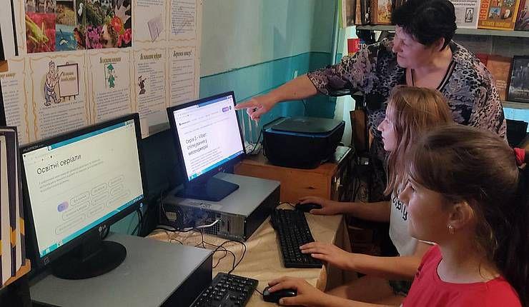 Хмельнитчина: Сельские библиотеки учат цифровой грамотности