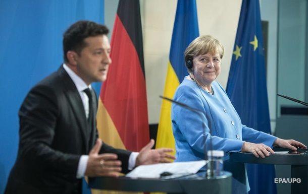 """Entstehung von """"Verhandlungsdreieck"""" Ukraine-Deutschland-USA"""