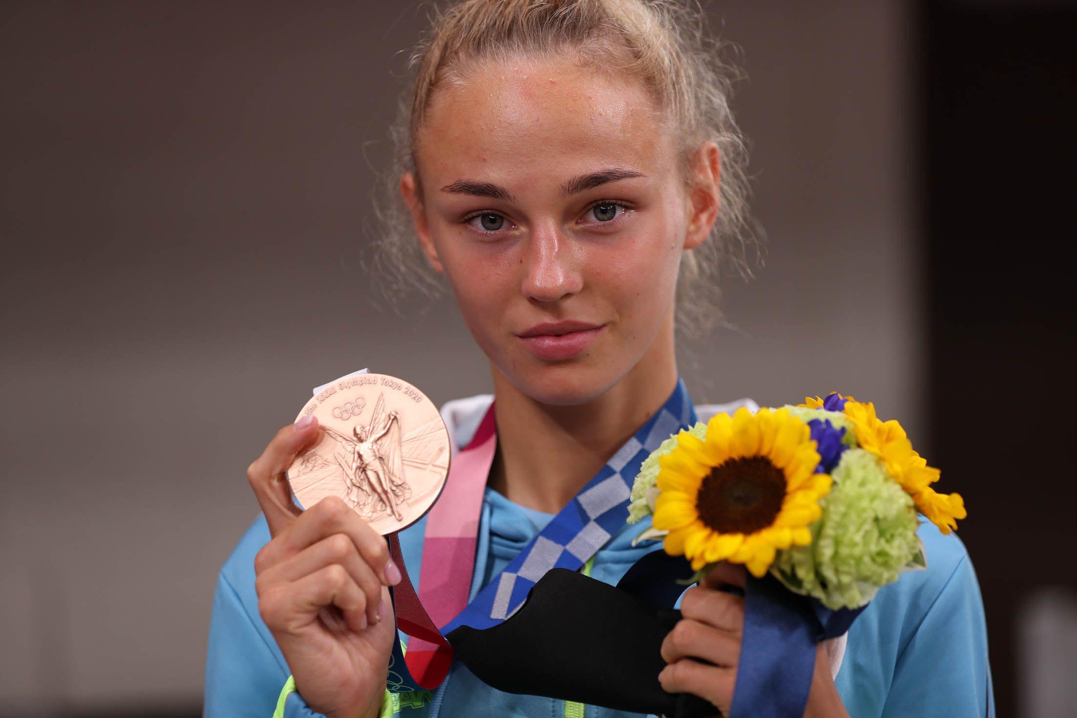 Награда и слезы Дарьи Белодед
