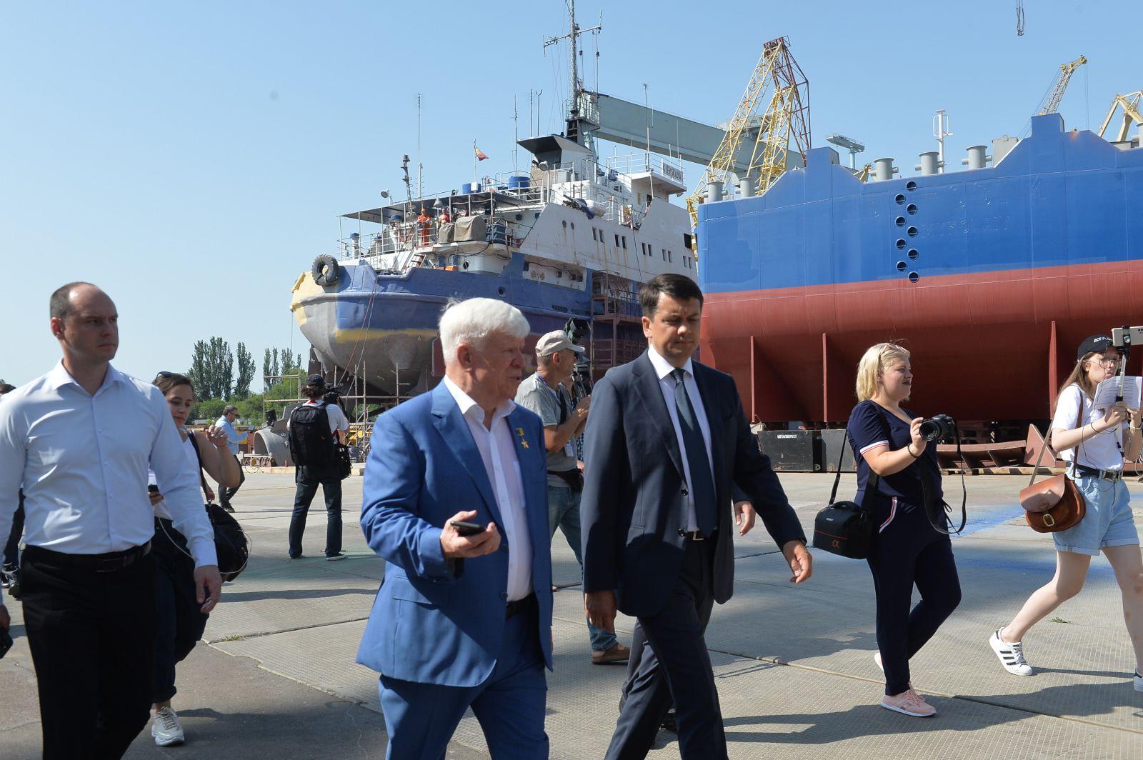 Дмитрий Разумков: «Необходимо сконцентрировать внимание на производстве и внутренних инвестициях»