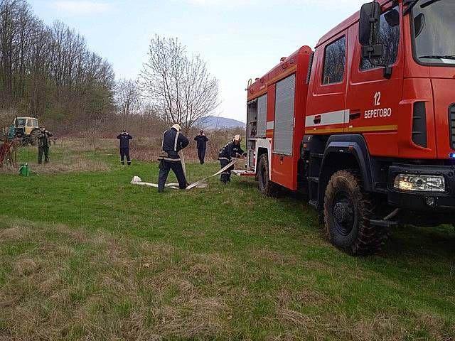 Предотвращают пожары в лесах Закарпатья