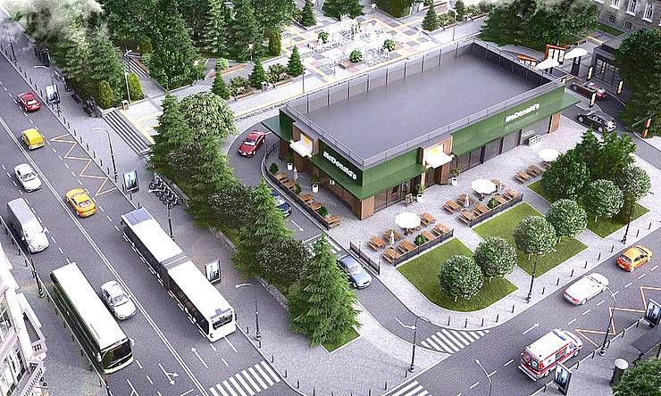 Будут ли строить «МакДональдз» в центральном сквере города? За и против