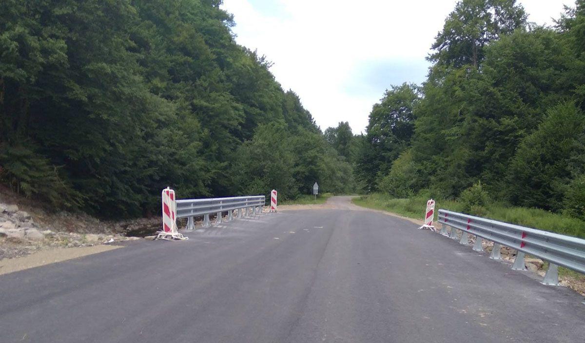 На Закарпатье завершается ремонт мостовых переходов