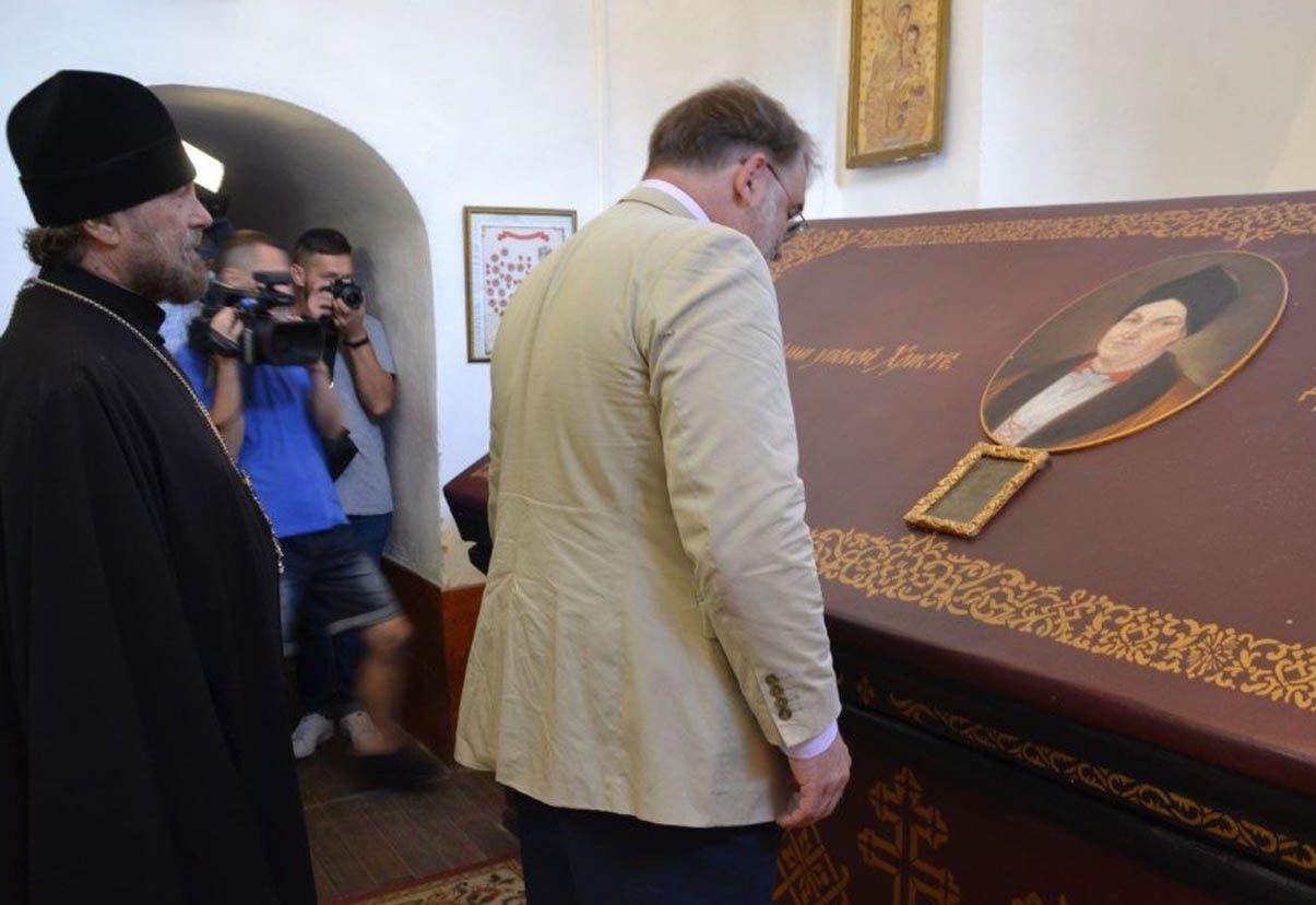 На Черниговщину приехал в гости потомок гетмана Разумовского