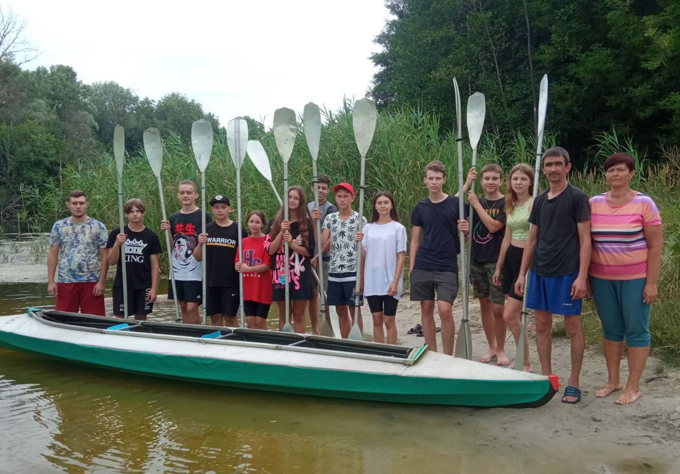 На Полтавщині учні осідлали «Чисту хвилю»
