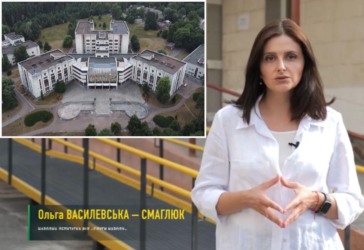 Реконструюють лікарню, школу і басейн