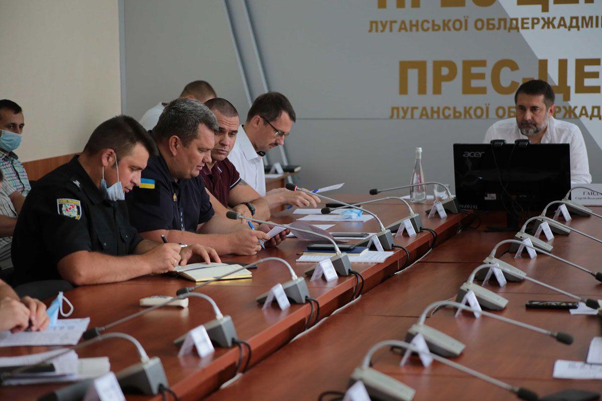 Луганщина: Запрещено жечь стерню
