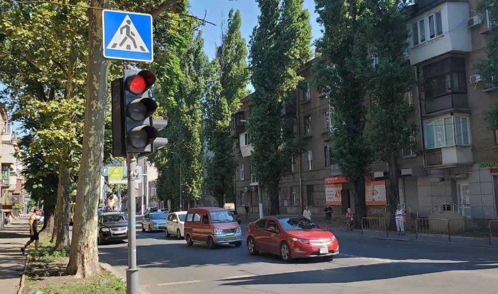 Одесса: Светофоры работают без тока