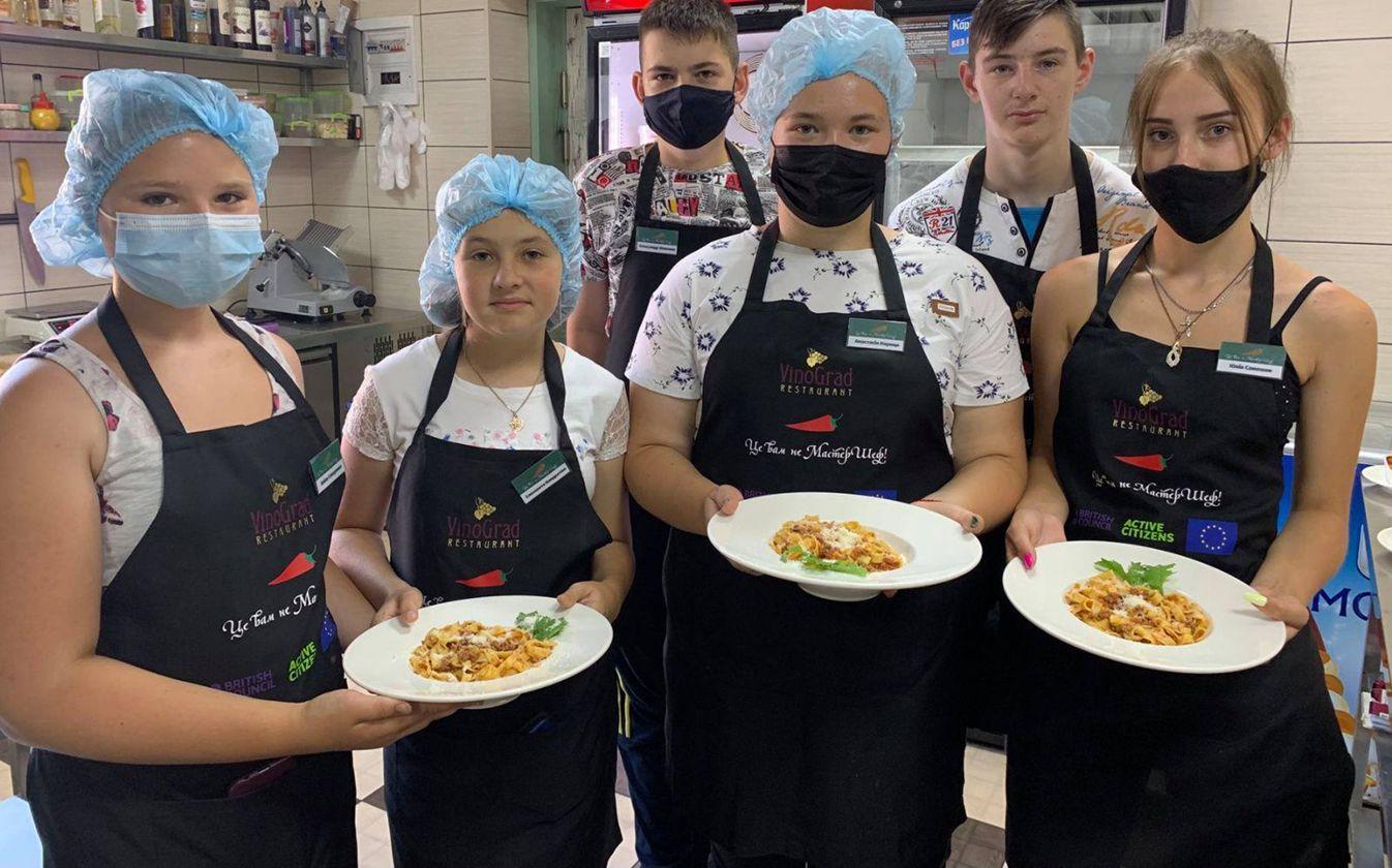 Житомир: Юные кулинары отшлифовали мастерство