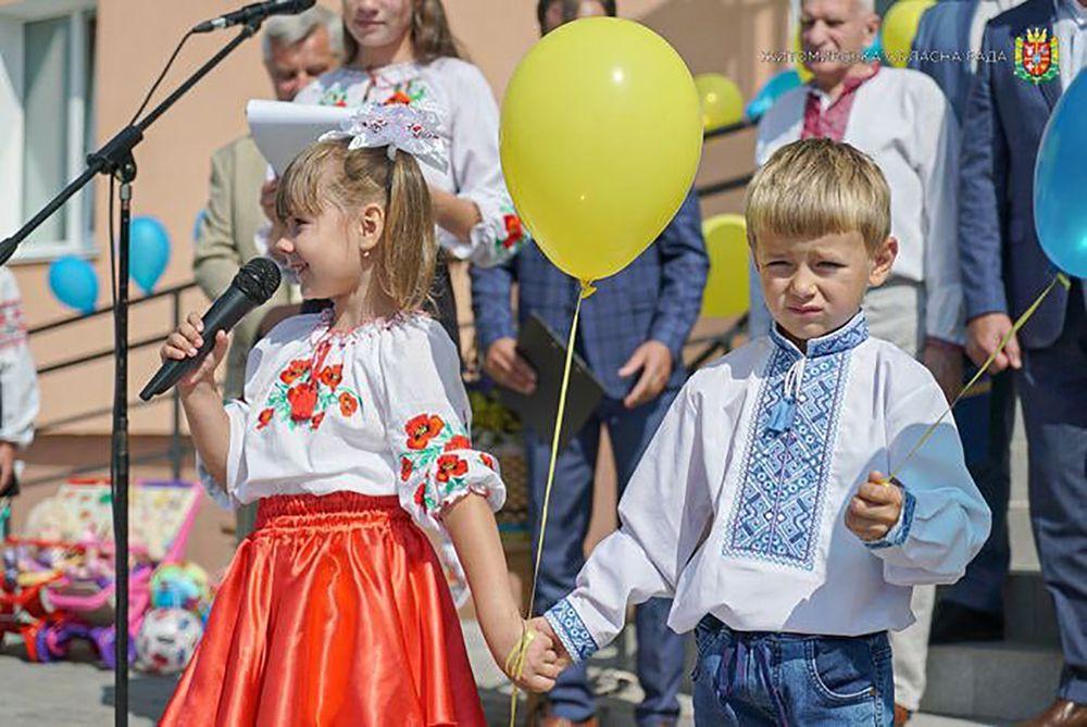 Житомирщина: «Веселка» задзвеніла голосами малечі