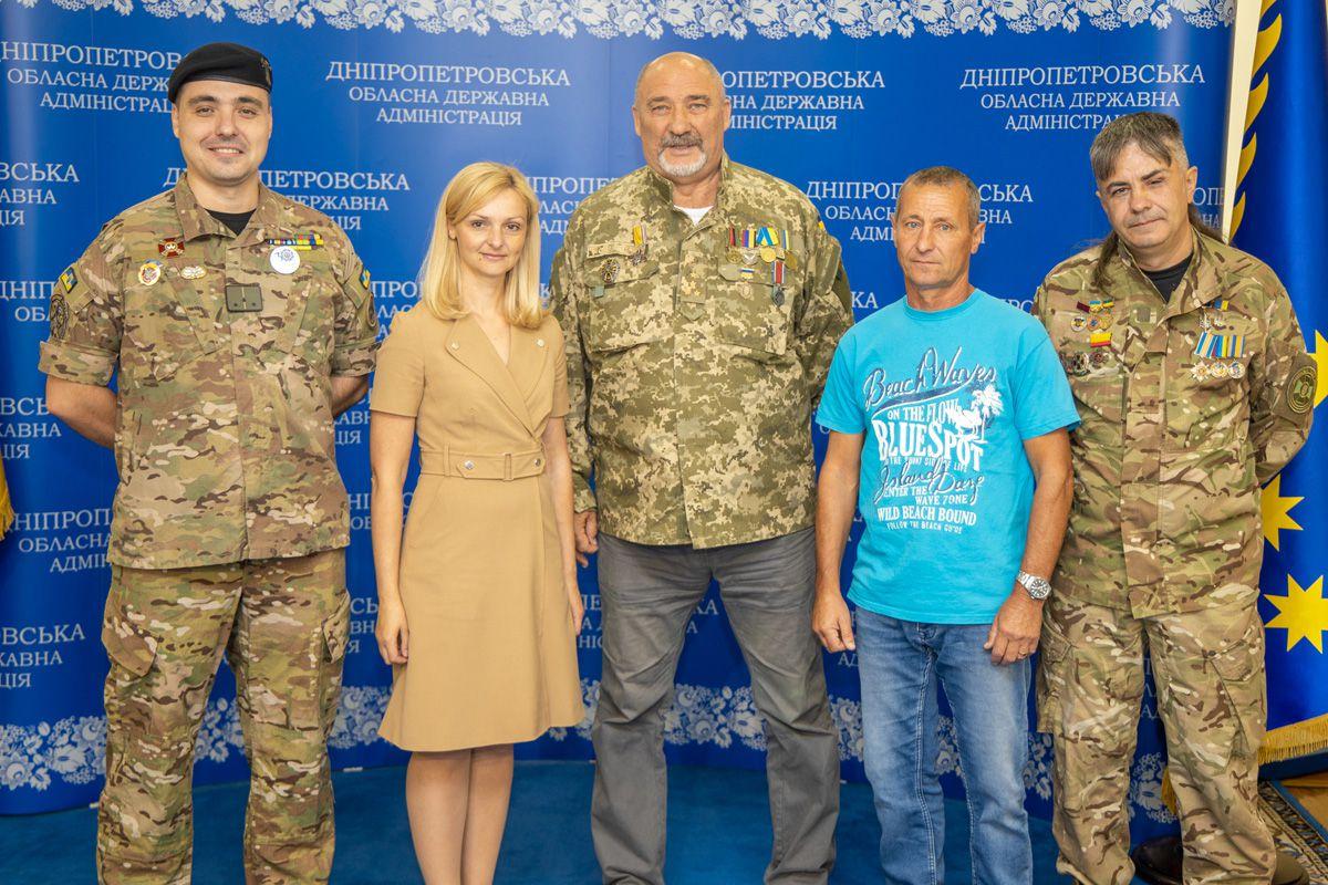 Дніпропетровщина: Атовцям вручили путівки в санаторії