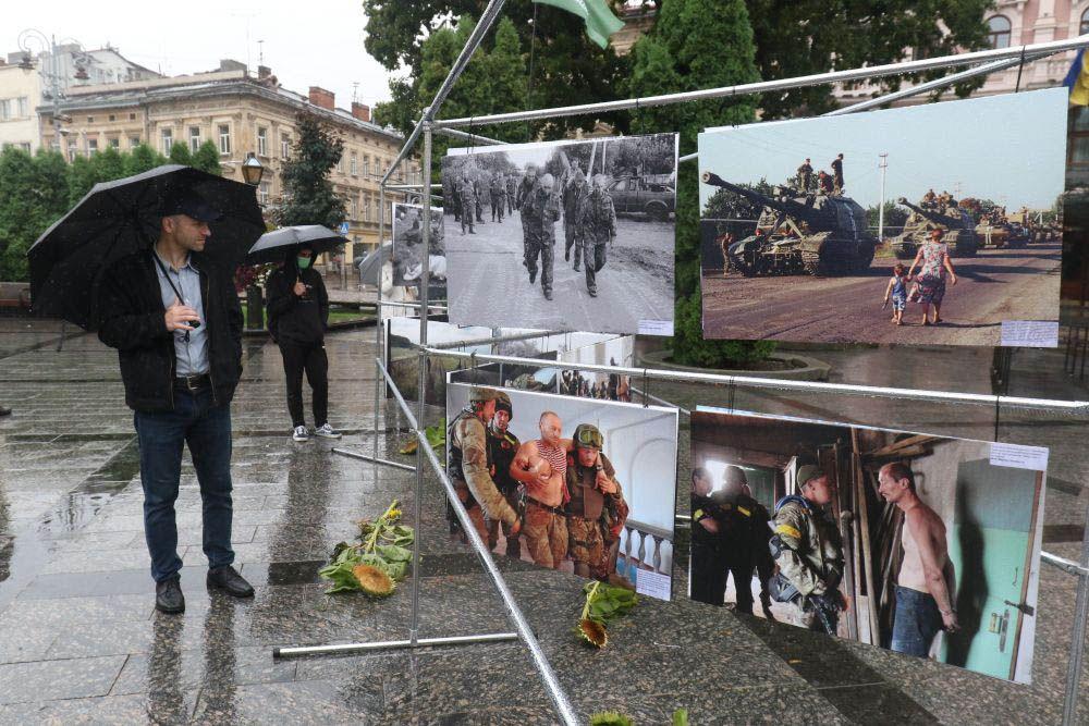 Выставку посвятили боям под Иловайском