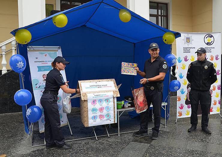 Подготовить учащихся помогли полицейские
