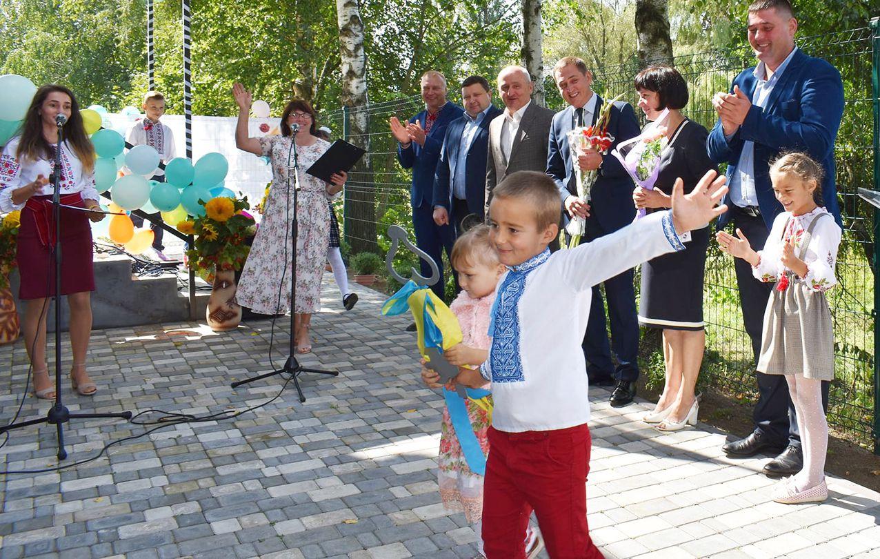 Житомирщина: Открылся долгожданный сад