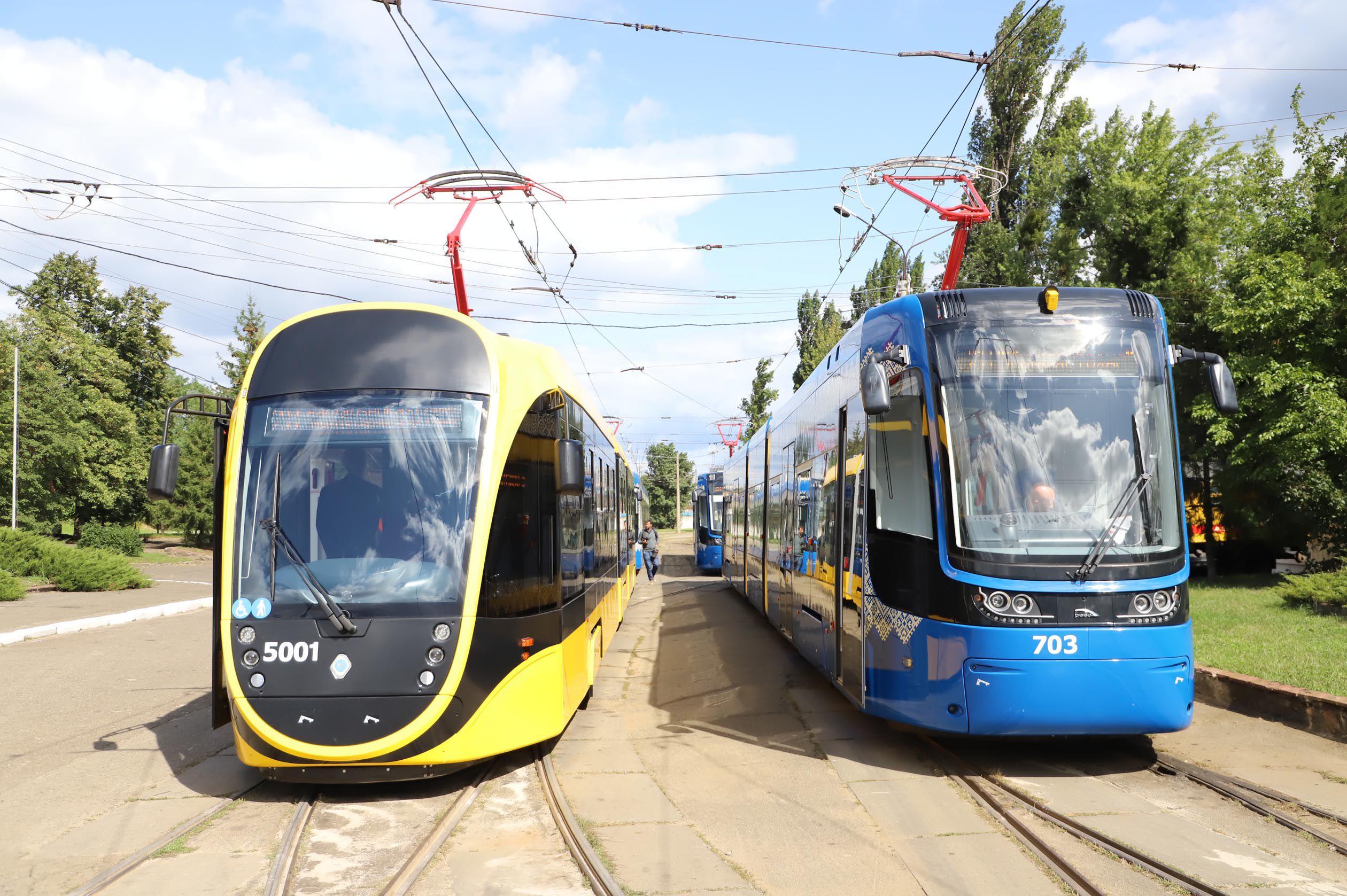 Киев: На маршруты выйдут новые трамваи