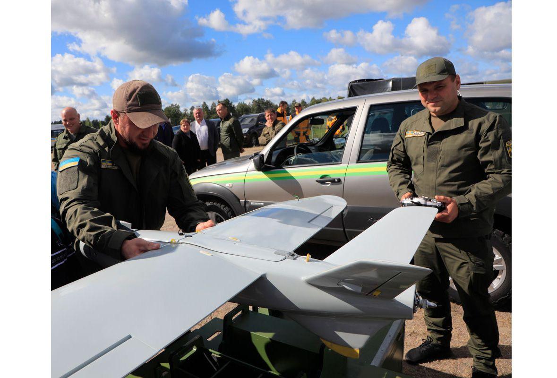 Черниговщина: Лесники показали беспилотники