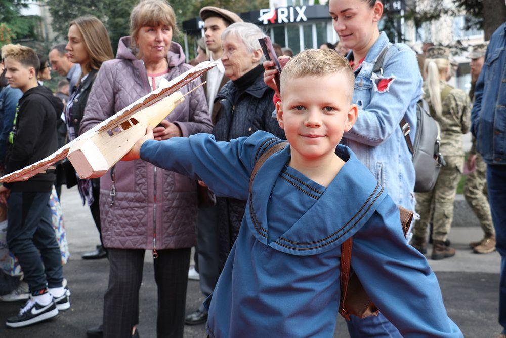 Житомир: Вакцинировались во время арт-фестиваля