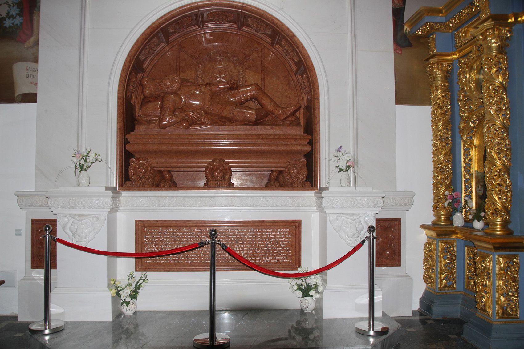 У Києво-Печерській лаврі реконструювали пам'ятник Костянтину Острозькому