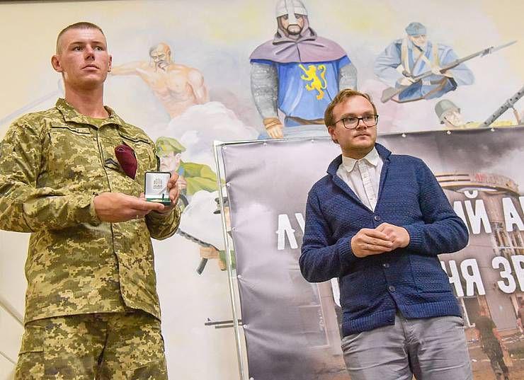 Отметили защитников луганского аэропорта