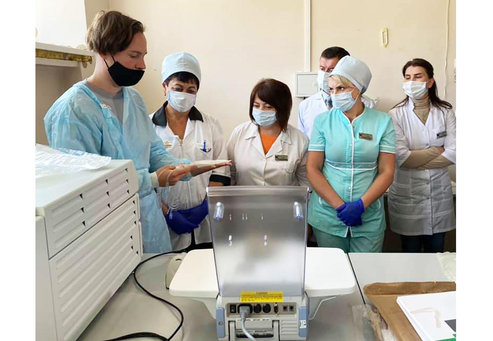 Житомир: Ризики для пацієнтів мінімізують