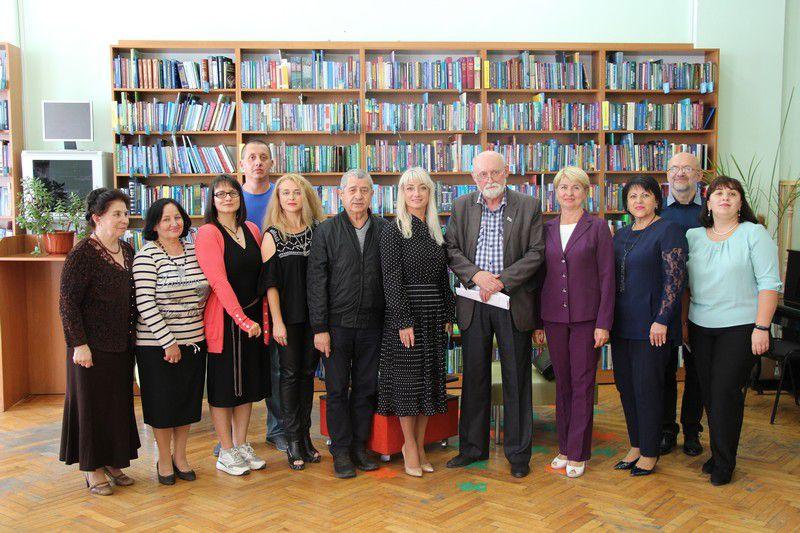 Винница: Поддерживают талантливых авторов
