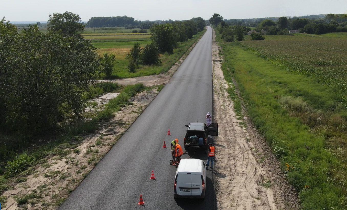 Черниговщина: Участок трассы привели в порядок