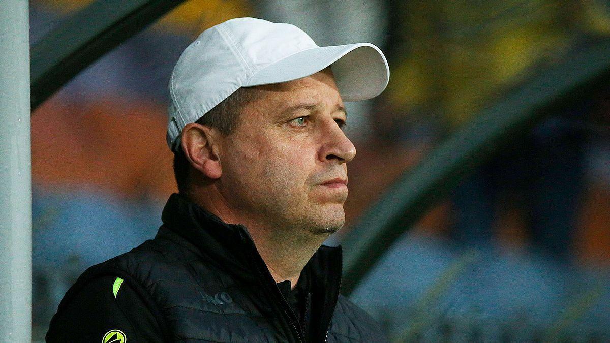 Футбол: Вернидуб не согласен на роль аутсайдера