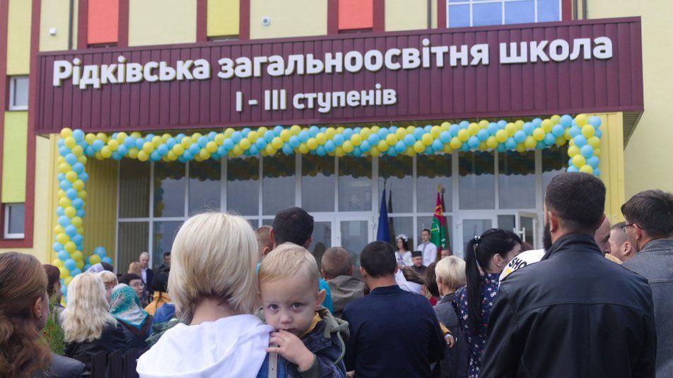 Буковина: Люди недовольны школой, построенной в Редковцах