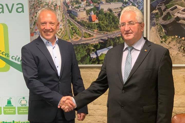 Черновцы усиливают  сотрудничество с Сучавой