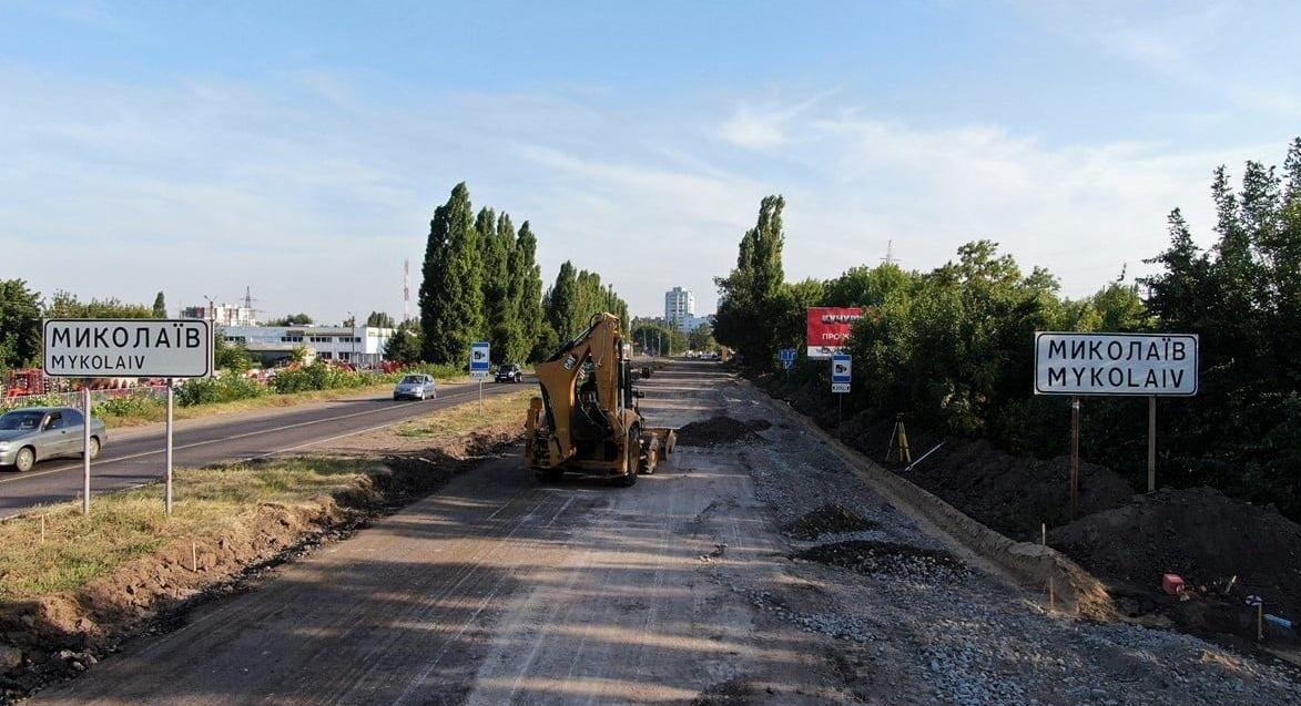 Миколаївщина: Під'їзні шляхи «перевдягнуть» у бетон