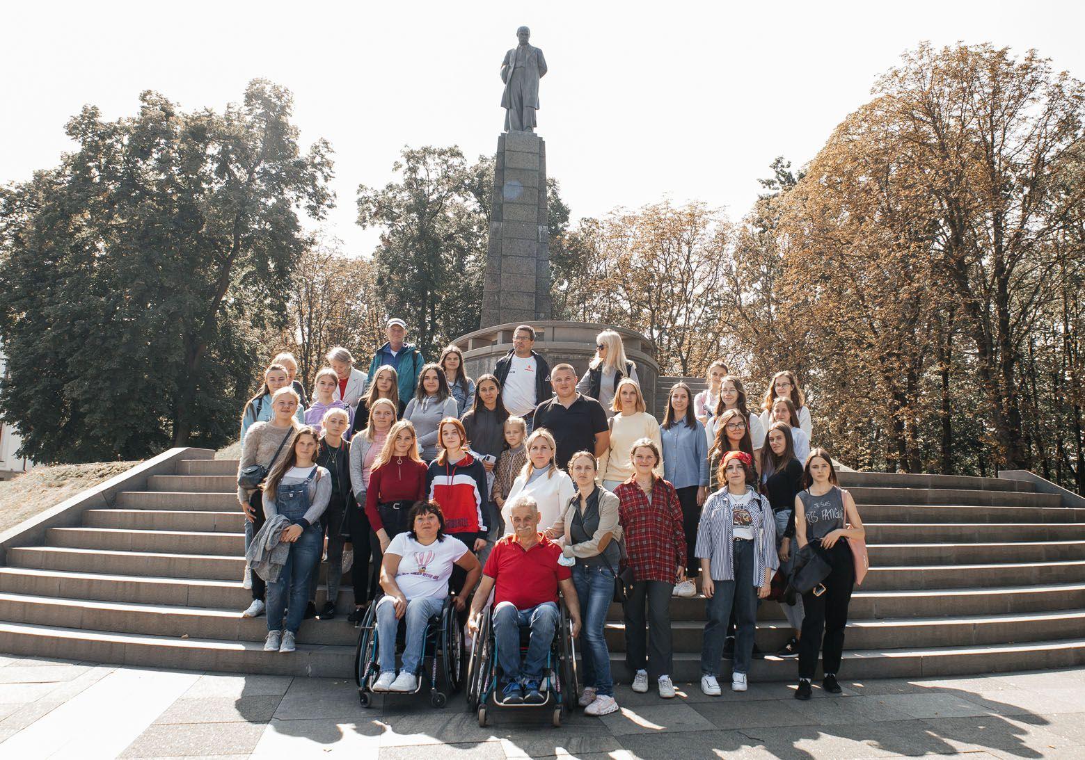 Туристичні об'єкти Черкащини промоніторили щодо доступності для людей з інвалідністю