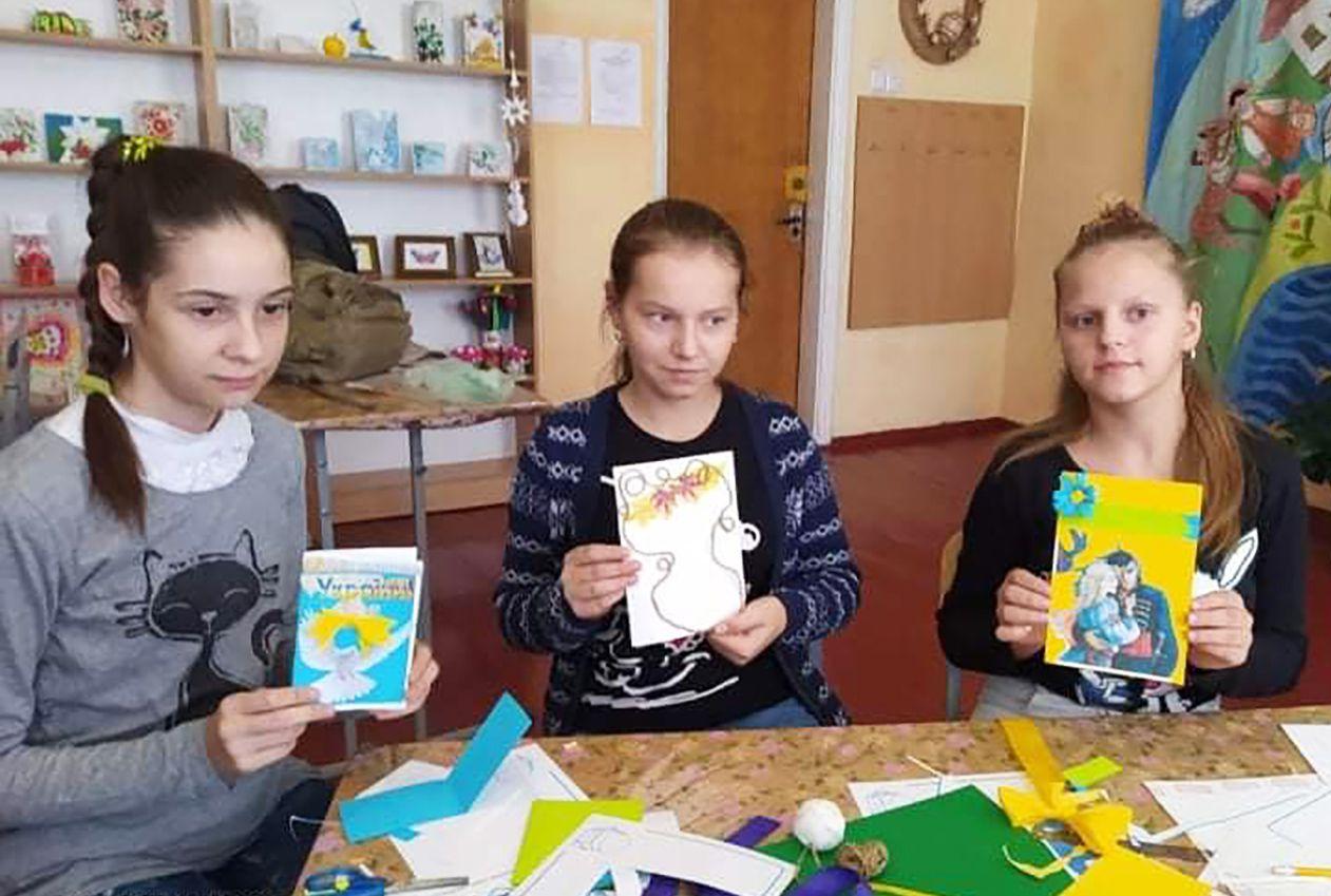 Житомир: Готовят поздравления для защитников