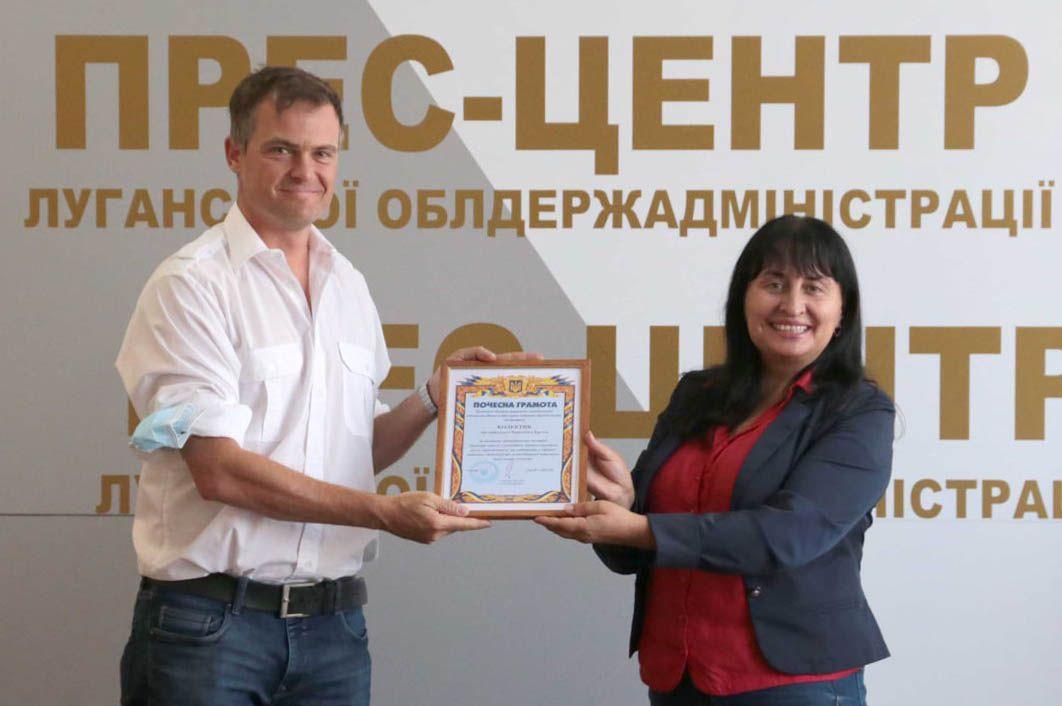 Комитет Красного Креста поддерживает луганчан
