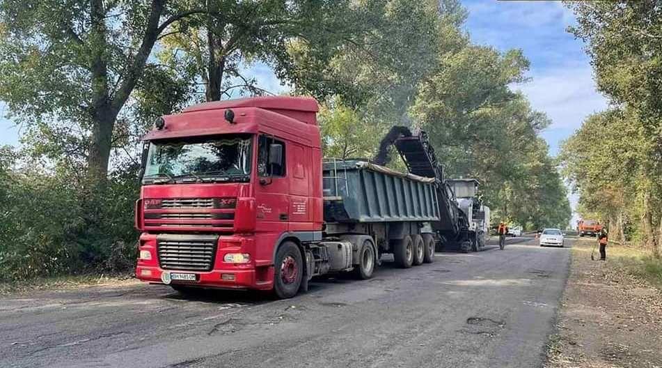 Миколаївщина: Ремонтують дороги