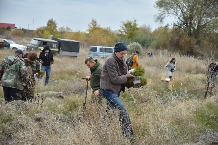 Луганщина: Місія —  озеленення рекреаційних ділянок