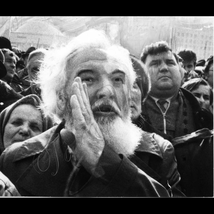 Мітинги. Весна 1991 року. Оцінка виборцями парламентської діяльності народних депутатів УРСР