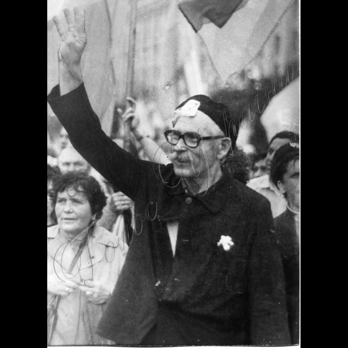 Мітинги. 23 Червня 1991 року. Демонстрація на Хрещатику.