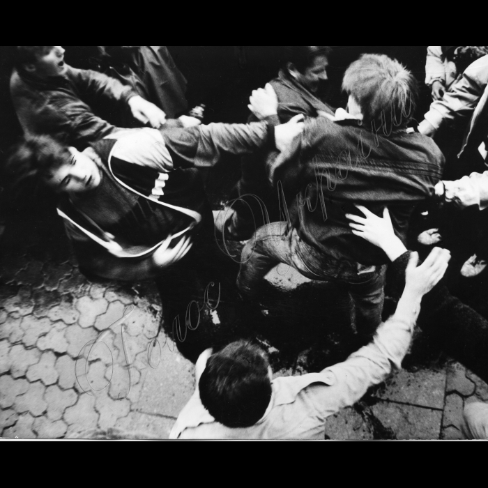 Мітинги. Літо 1991 року. Сутички - бійки