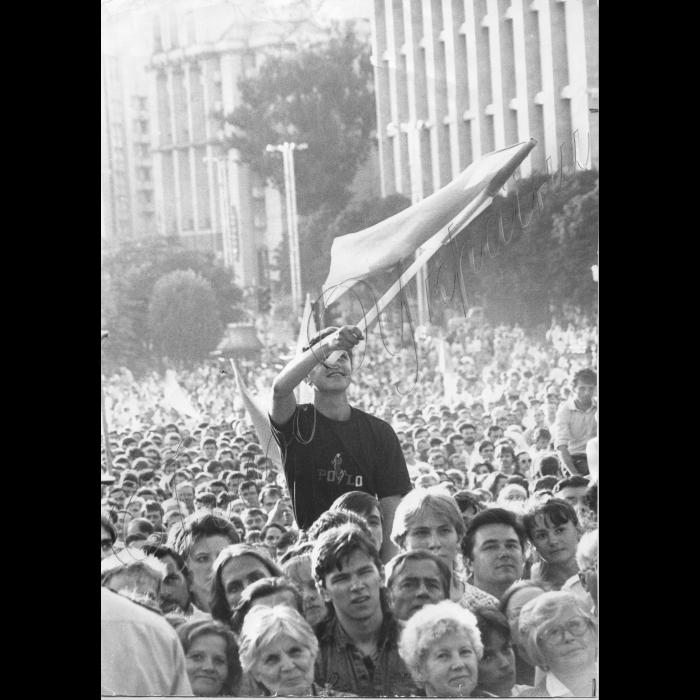 Мітинги. 16.07.1991 Річниця проголошення Декларації про суверенітет України