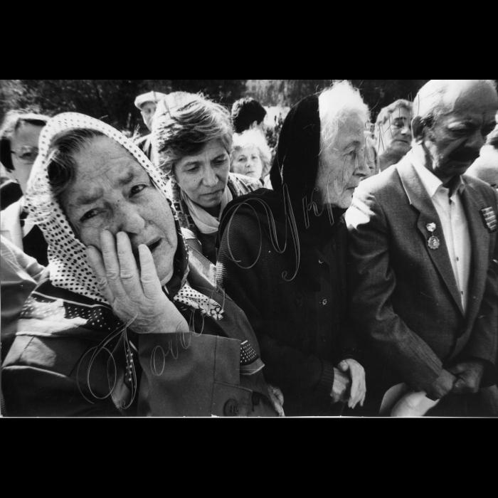 Мітинги. 20 вересня 1991 року. Бабин Яр