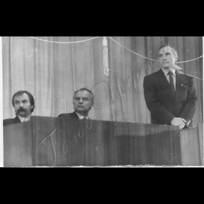 Вересень 1989 року. Установчий з'їзд Руху. І. Заєць, Д. Павличко