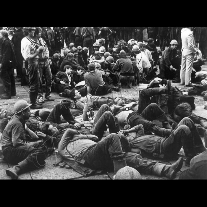 Страйк шахтарів. Липень 1989 року