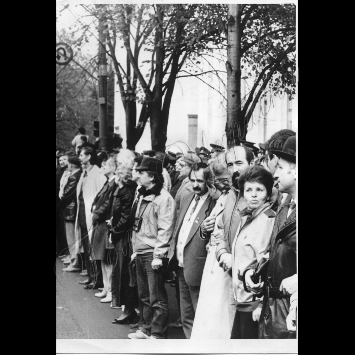 Мітинг. Жовтень 1990 року.