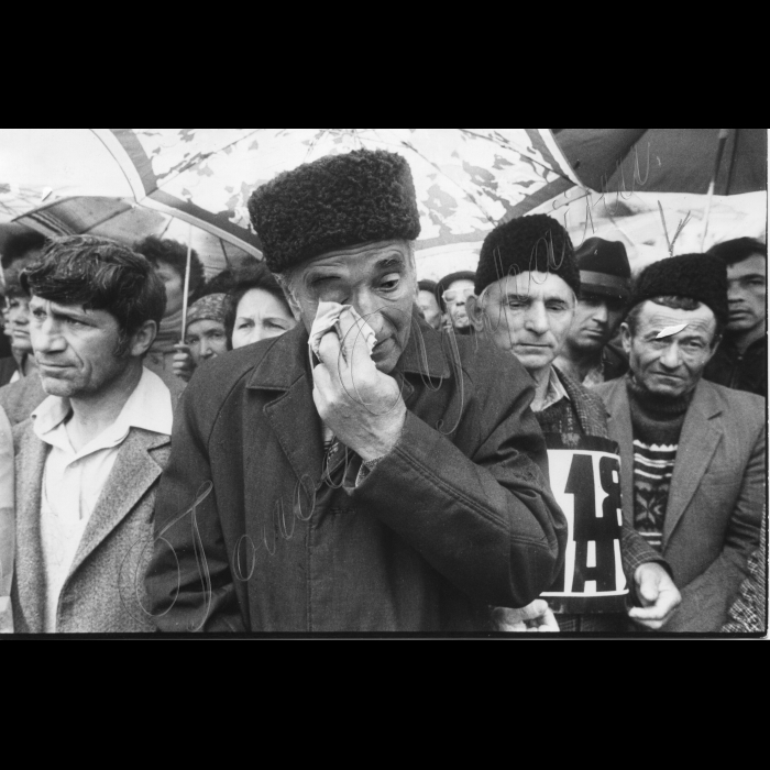 Мітинги. 1992 рік. 30.05.1992.  Крим. Мітинг кримських татар
