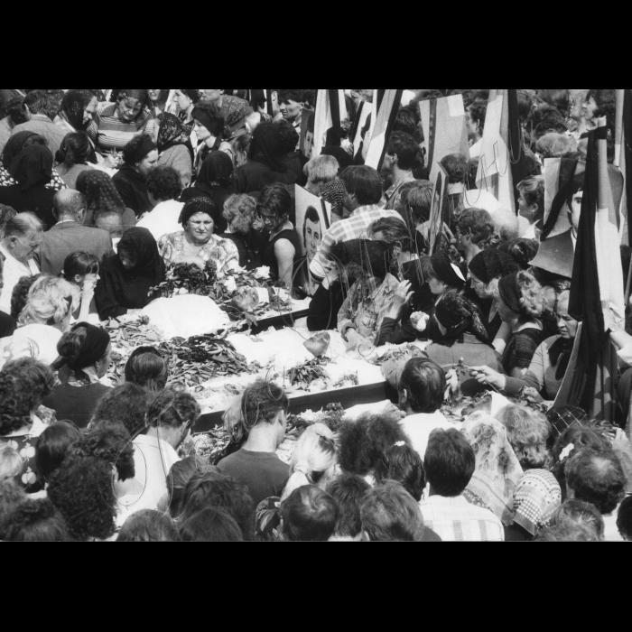 Мітинги. 1992 рік. 09.06.1992. Луганська область. Трагедія на шахті