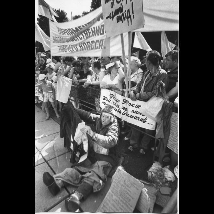 Мітинги. 03.061992. Мітинг з вимогою відставки уряду Фокіна