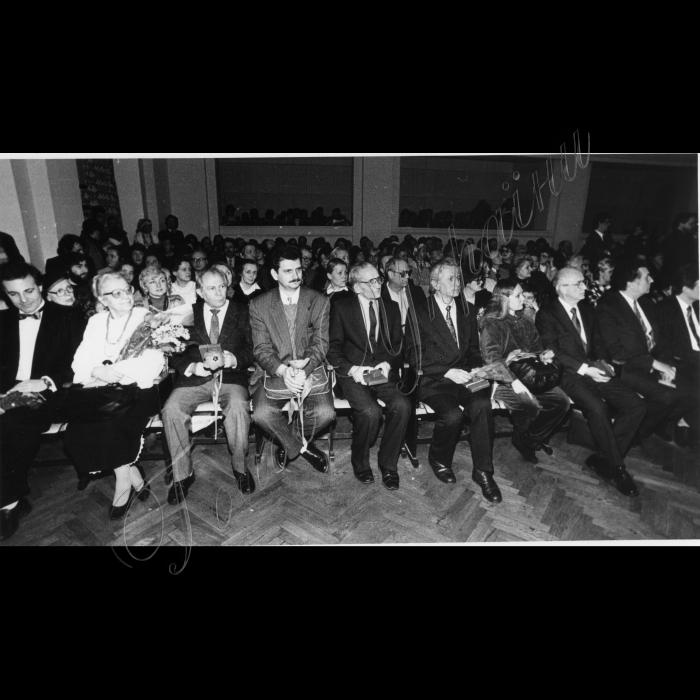 9 марта1994 - вручение Государственных премий имени Шевченка. Лауреаты премий