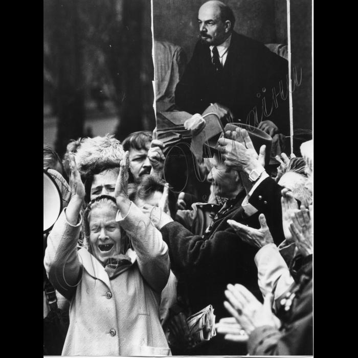 01.05.1995. Першотравнева демонстрація Мітинг
