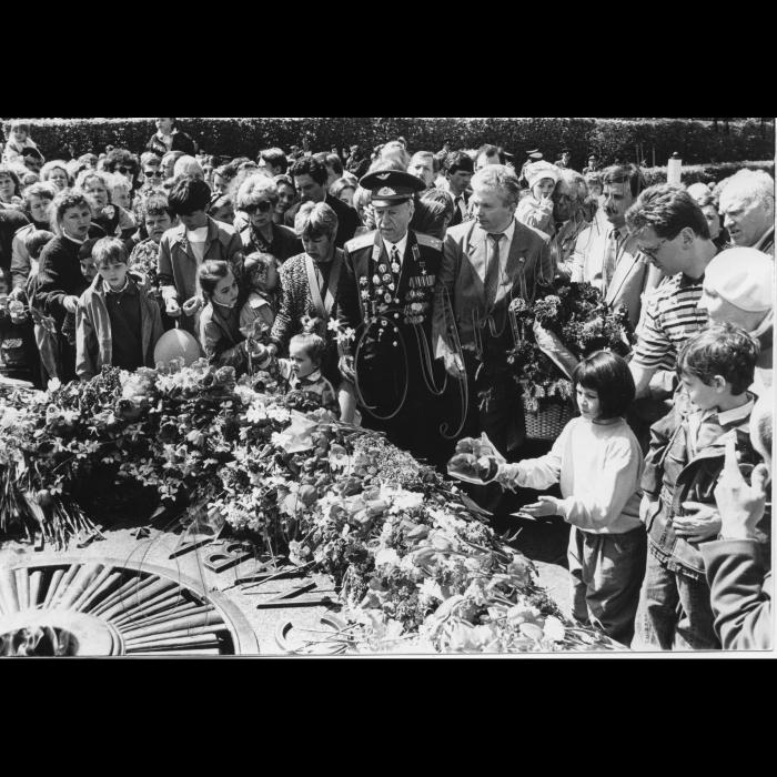 09.05.1995. Святкування Дня Перемоги над фашизмом, ветеран