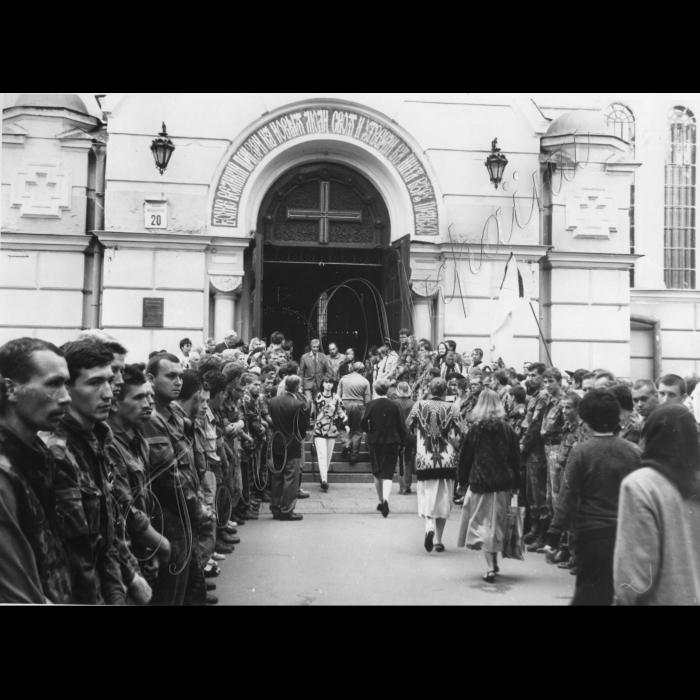 18.07.1995. День поховання Патріарха Володимира.